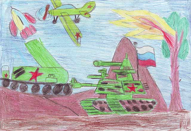 рисунок войны