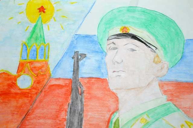 кремль рисунок
