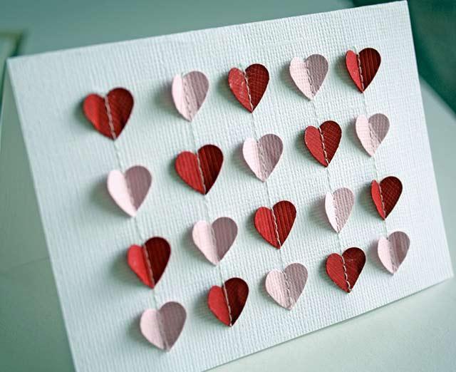 фетровые сердечки