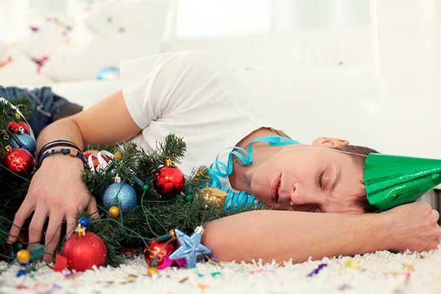 новый год во сне
