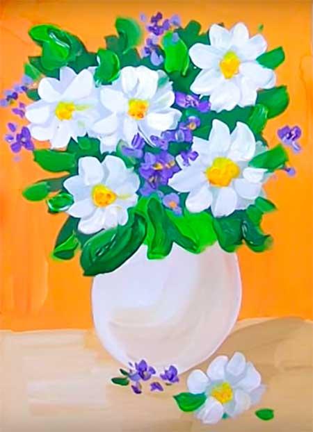 красивый рисунок на 8 марта
