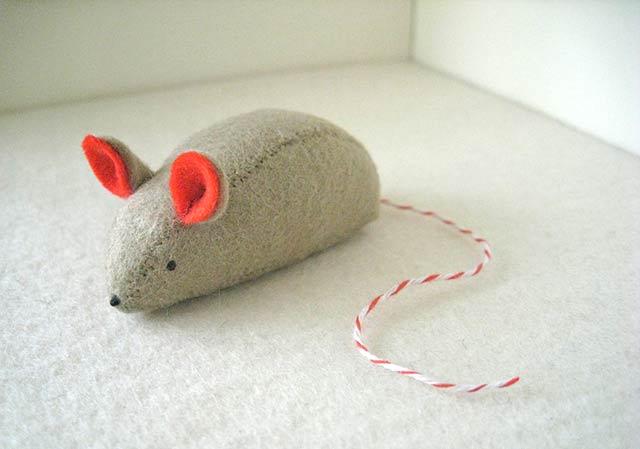 мышка с ушками