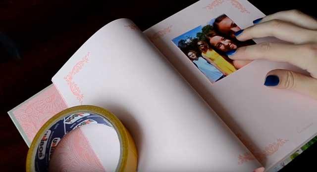 фото в альбоме