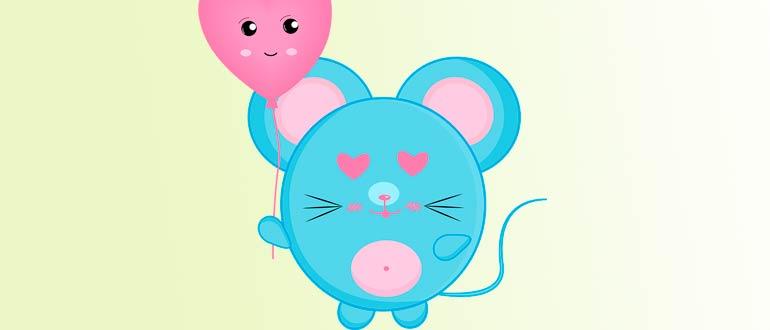 крыска мышка своими руками