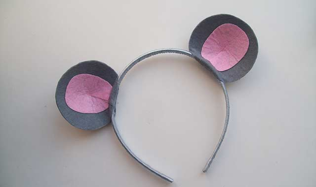 ушки мышки маска