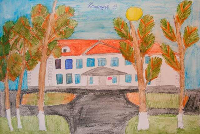 школа рисунок