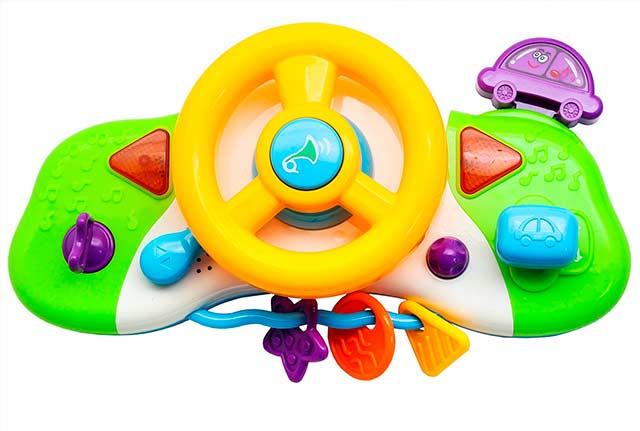игрушка руль