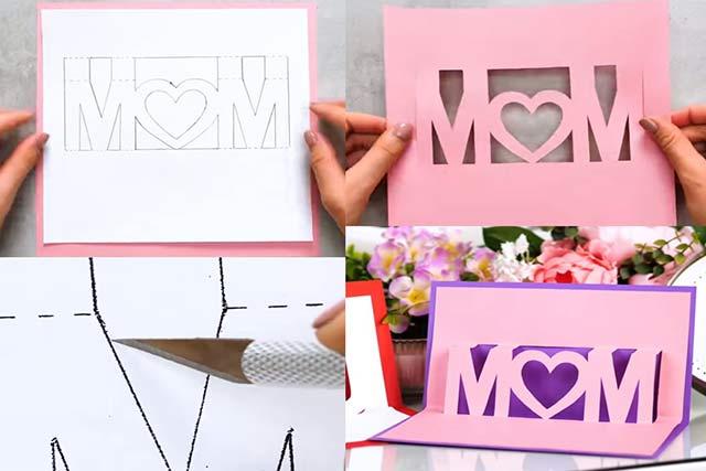 открытка с буквами