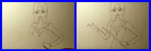 прорисовка рук