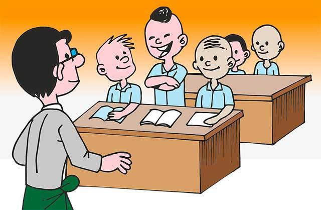 учитель мужчина и ребенок