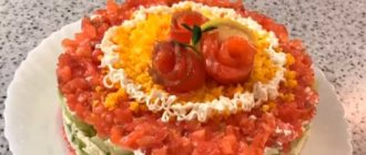 салат мануэлла