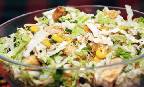 Салат с изюмом и тмином