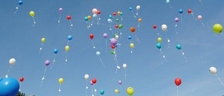 шарики в небе