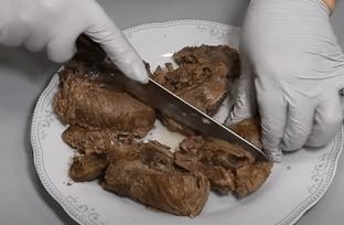 Отделяем кость от мяса