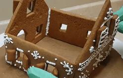 соединяем стены домика