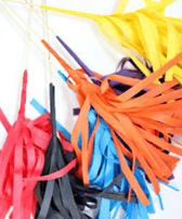 помпоны из цветной бумаги