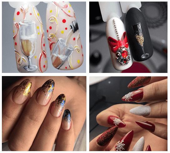 подборка на овальные ногти