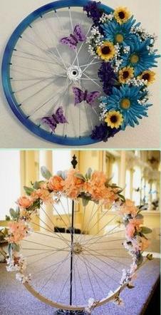 декорированные колеса