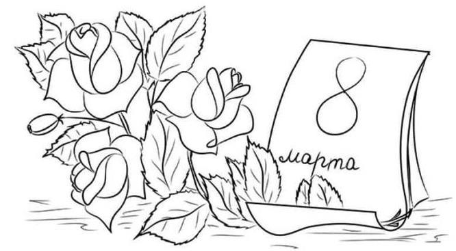 рисунок карандашом розы