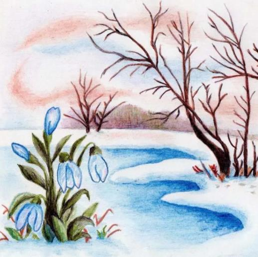 весна пейзаж