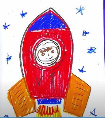 ракета в детский сад