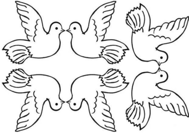 6 голубей