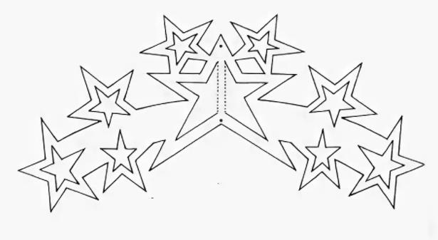 звезды для вырезания