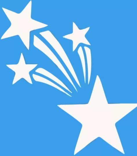 голубой феерверк