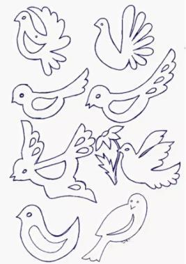 варианты птиц