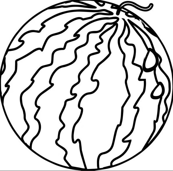 полосы арбуза для распечатки