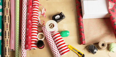 упаковочная бумага для подарков