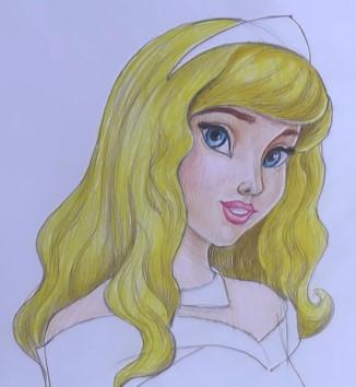 разукрашиваем блондинистые волосы