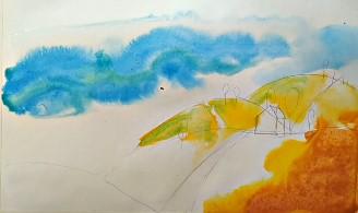 оранжевые холм