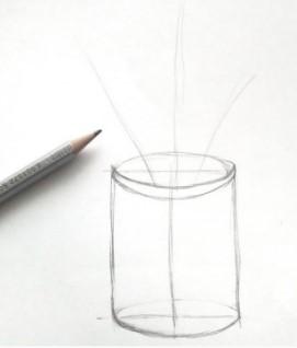 построение простым карандашом