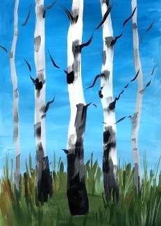 прорисовываем ветви
