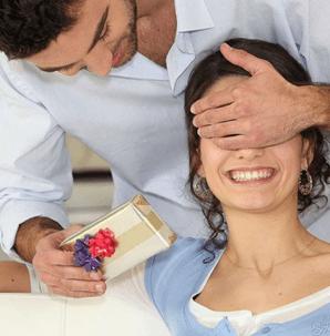 сюрприз жене от мужа