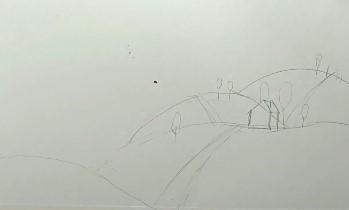 зарисовка карандашом