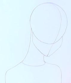 зарисовываем шею